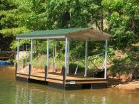 10'x20' Platform Dock w/Gabled Roof