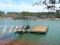 26'x28' Slip Dock w/Gabled Roof