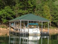 22'x28' Slip Dock w/ Hipped Roof